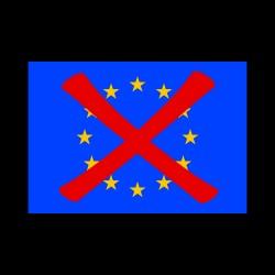 EU přeškrtlá (15,7x11cm)
